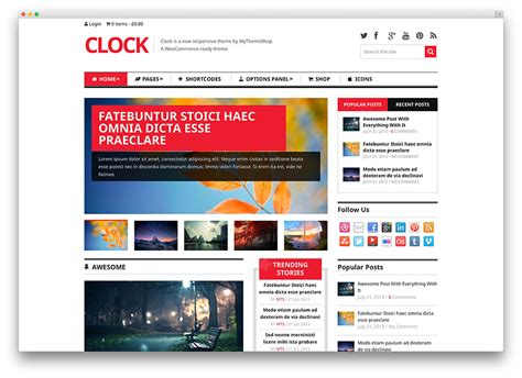 New Technology Template 22 Awesome Tech News Themes 2017 Colorlib