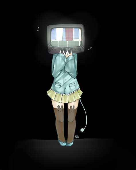 Animetv U by Tv By Paper Is Food On Deviantart