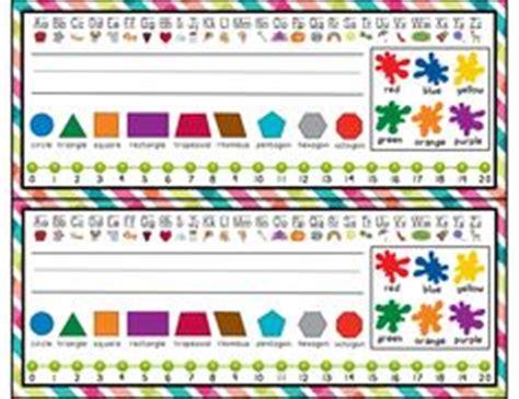 printable alphabet desk tags free bright polka dot desk tags back to school