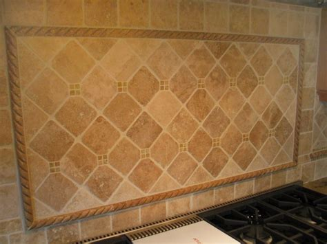 travertine tile backsplash backsplash design ideas
