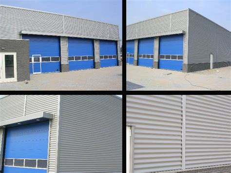 insulated metal panel for facade top ondulato by