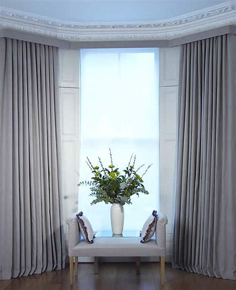 Contemporary Window Curtains » Home Design 2017