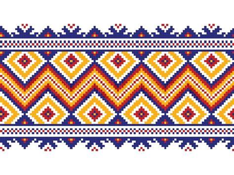 ukraine pattern vector vector illustration of ukrainian seamless pattern ornament