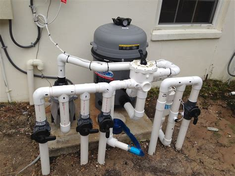 Pool Filter Plumbing by Pool Draining Goodyear Az Affinity Pool Service