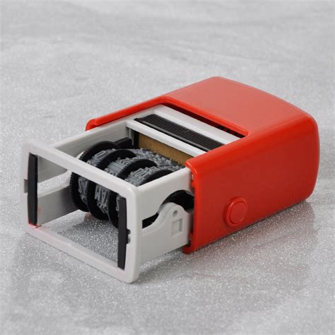 rubber self inking sts new best self inking automatic mini dater date chop rubber