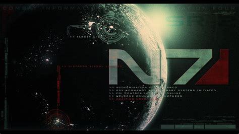 Mass Effect Desktop Wallpaper N7 Wallpapers Wallpaper Cave