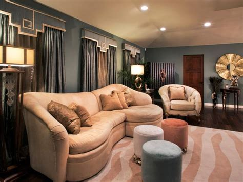 photos hgtv blue and gold art deco vestibule idolza art deco living room with pink zebra rug hgtv