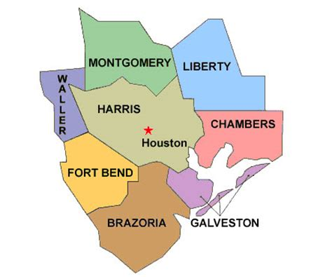 map of houston county texas images