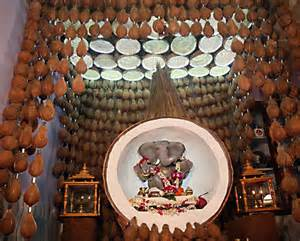 ganpati decoration ideas for home the royale peacock decoration ideas for ganpati decorating of party