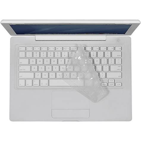 Keyboard Macbook White Unibody iskin protouch keyboard protector for plastic macbook ptmb27 ar