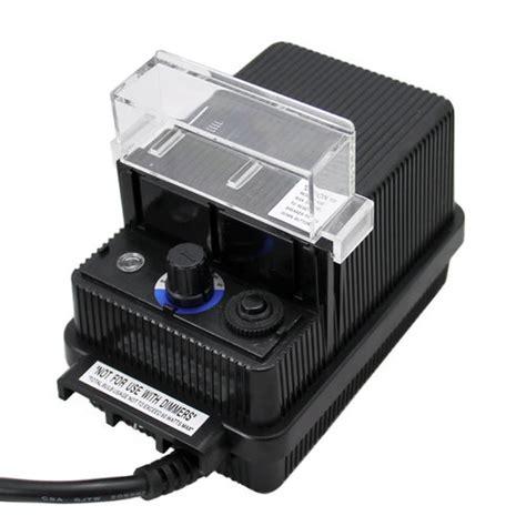 landscape lighting kit with transformer low voltage outdoor mini 60 watt transformer aqlighting