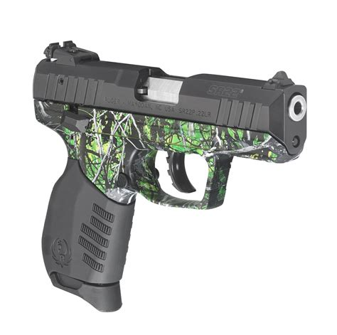 ruger sr22 colors ruger oozes spirit with new toxic harvest moon