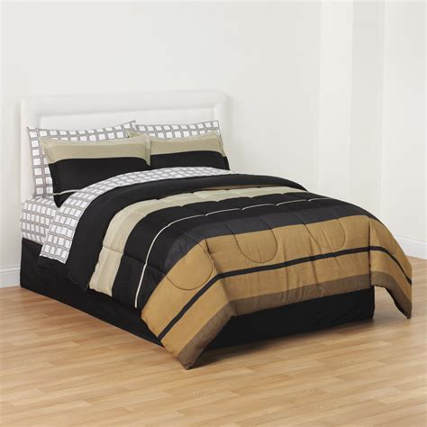Kmart Bedding Set Essential Home 8 Complete Bed Set Striped