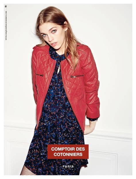 parisian chic style in comptoir des cotonniers fall winter