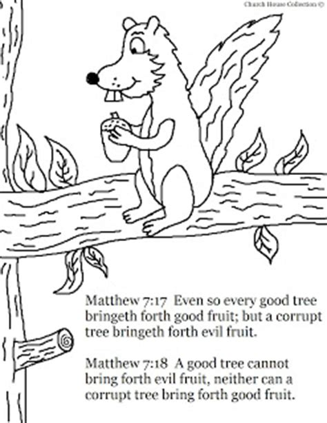 Matthew 7 Coloring Pages by Church House Collection Fall Coloring Page For