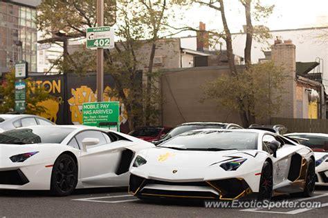 Lamborghini Of Toronto Lamborghini Aventador Spotted In Toronto Canada On 10 25