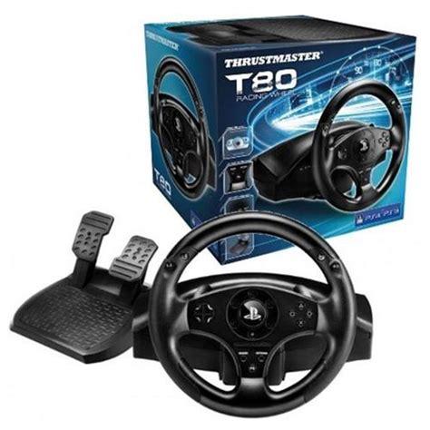 volante thrustmaster ps4 volante thrustmaster t80 racing wheel ps4 ps3 en fnac es