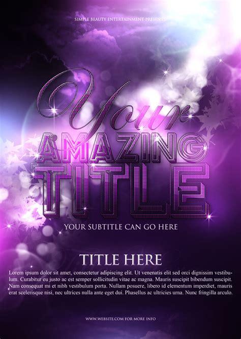 design poster psd font design posters psd material over millions vectors