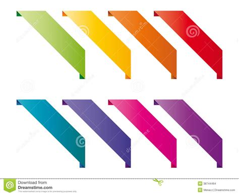 colored overlays colored overlays stock images image 38744484