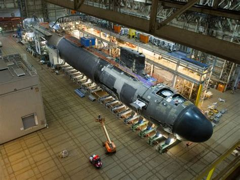 general dynamics electric boat australia oma bow wave of subs rolling through yards