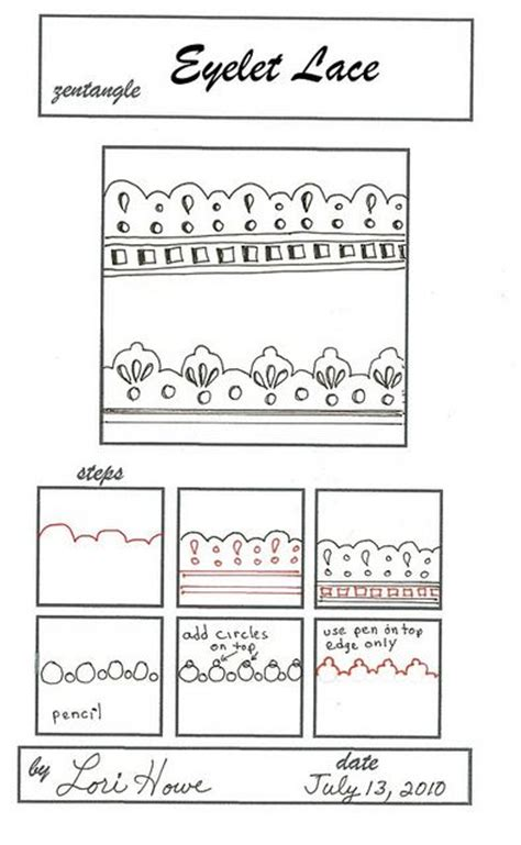 zentangle pattern lace 95 best images about zentangle patterns and how to steps