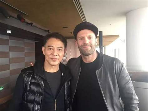 film jason statham jet li when jet li meets jason statham looking forward to their