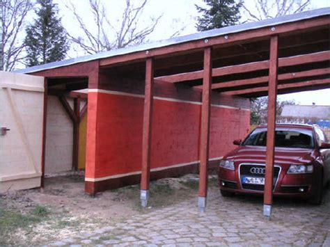 carport dachmaterial carport mit schuppen und eingangs 252 berdachung