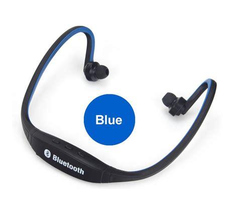 Du6083 Headset Bluetooth Vivan S9 V4 1 Wireless Sports White sport wireless original s9 support tf card handfree bluetooth 4 0 earphone headphone headset