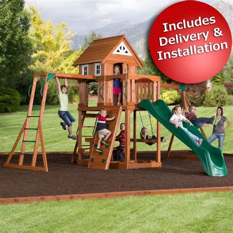 Backyard Discovery Rockin Adventure 17 Best Ideas About Adventure Playsets On