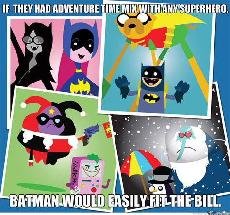 Adventure Time Original Character Meme - adventure time batman by dman489 meme center