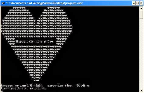 Heart Pattern In Java | c program to print heart shape with happy valentine s