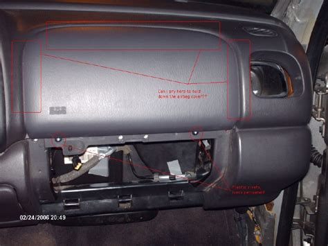 airbag deployment 2006 ford expedition auto manual service manual passenger side airbag removal on a 1998 lincoln navigator hmb while i prepare