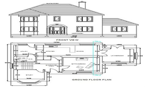 cad house autocad house plans free download free small house plans