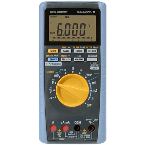 Multimeter Digital Yokogawa yokogawa ty520 digital multimeter at test equipment depot