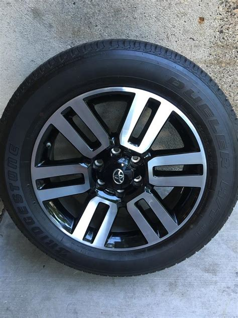 Toyota Oem Tires 2016 Toyota 4 Runner Limited 20x7 Factory Oem Alloy Wheels