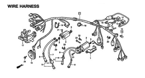 wiring diagram schematics for honda shadow vlx wiring