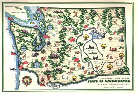 washington state usa map washington state map clipart 35