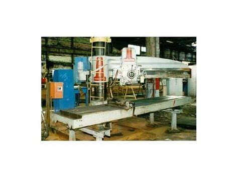 carlton floors manufacture used 6 x 13 quot carlton radial drill stock 4359 for sale