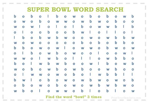printable version of bowl games super bowl word search puzzle printable
