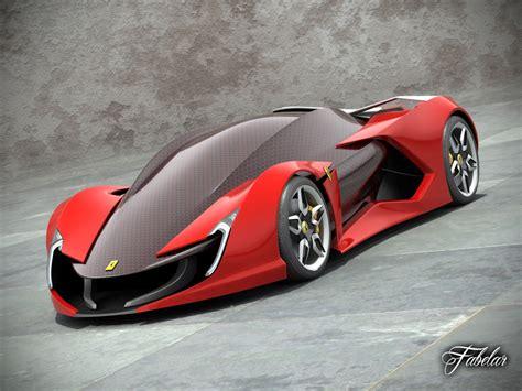 future ferrari models 3d ferrari impronta concept car model