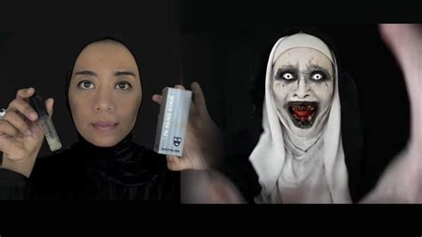 tutorial makeup hantu most unique halloween costumes ideas must try this year