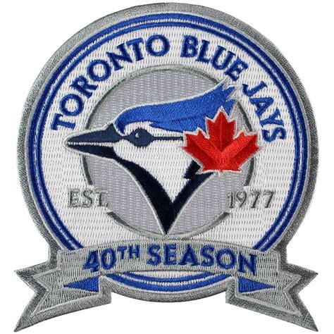 Kaos Toronto Blue Jays Logo 11 2016 toronto blue jays 40th anniversary season patch