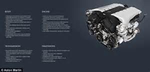 Aston Martin V12 Engine Specs Aston Martin Reveas Fastest Production Sports Car