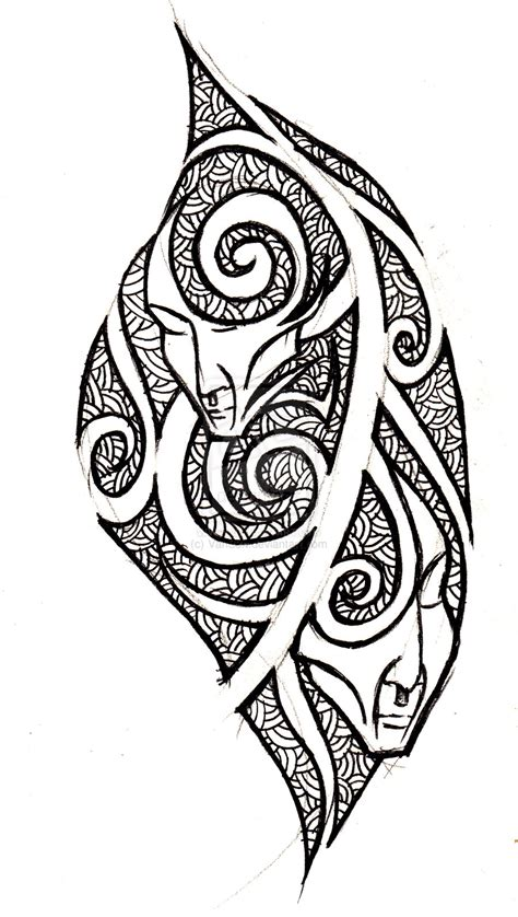 tribal gemini tattoo pin tribal gemini tattoos on