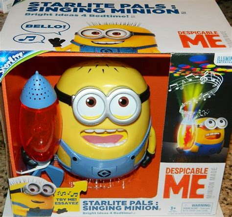 Starlite Pals Singing Minion despicable me 2 minion made starlite pals singing minion