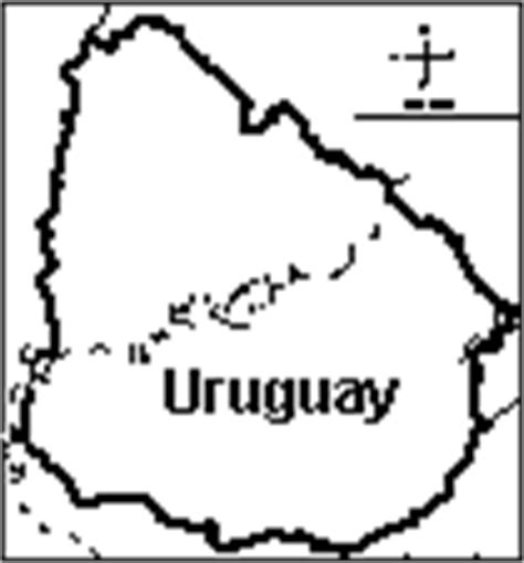 Uruguay Flag Outline by South America Enchantedlearning