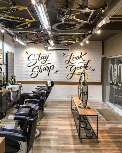 barber shop interior design best 25 barbershop design ideas on