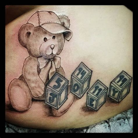teddy bear tattoos 45 sweet teddy tattoos for your 2018