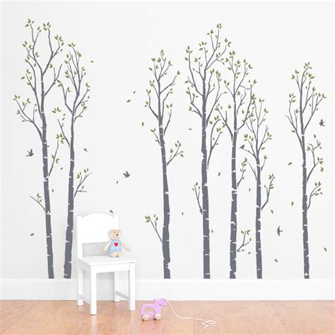 forest wall stickers forest wall decals roselawnlutheran