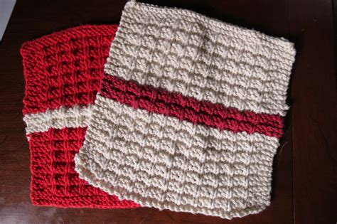 waffle knit dishcloth pattern en francais nana knits and jams the prosaic dishcloth